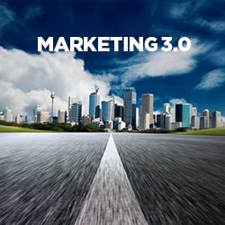 BtoBもマーケティング3.0の時代!マーケティングは顧客中心から人間中心へ。